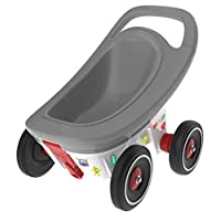 BIG Spielwarenfabrik 800056255 Big Buggy 3 in 1 Grey/White/Black