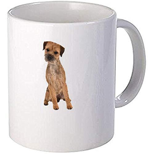 Taurus Border Terrier Dog Personalised Printed Mug -