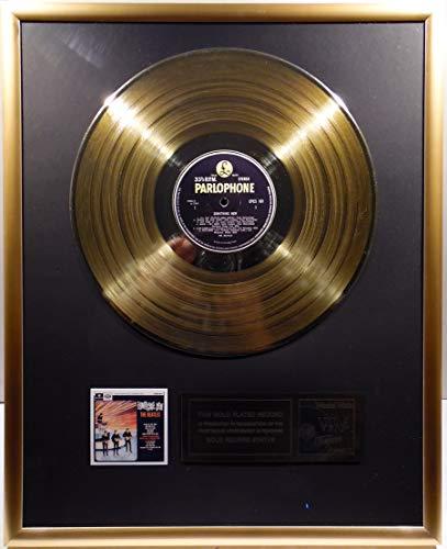 The Beatles - Something New, goldene Schallplatte (gold record)