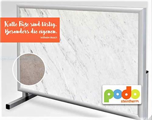 Keramik-infrarot-bereich (Schreibtischheizung ICE GREY 30 Cent pro Arbeitstag Büro-Heizung Zustell-Heizung Fuß-Heizung Infrarot-Heizung Elektro-Heizung Zustell-Heizung)