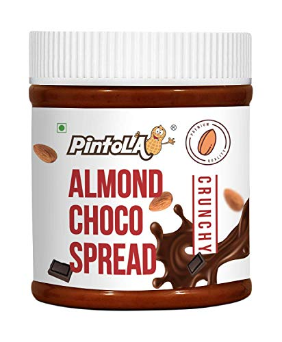 Roasted Almond Choco Butter, Spread (Crunchy) 350gm ( 12.34 OZ) By Pintola