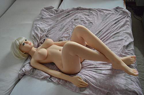 NANDY PERSONAL CARE Lebensgroß 165 cm Deluxe Silikon Aufblasbare Sexpuppe Vagina/Anus Sex Puppe Lebensechte Hände Füße 3D-Gesicht Augen Liebespuppe Sexspielzeug für Männer Sexpuppe