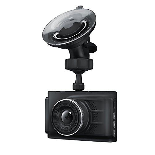 Aplic HD-Dashcam | Cámara automática HD con Cable Cargador para vehículo | Cámara de grabación de Accidentes para vehículos/Car Dash CAM