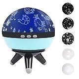 Sternenhimmel Projektor Kinder Nachtlicht mit 4 Austauschbar Lampenschrm