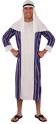 Rubie's - Disfraz de árabe para adultos (55021)