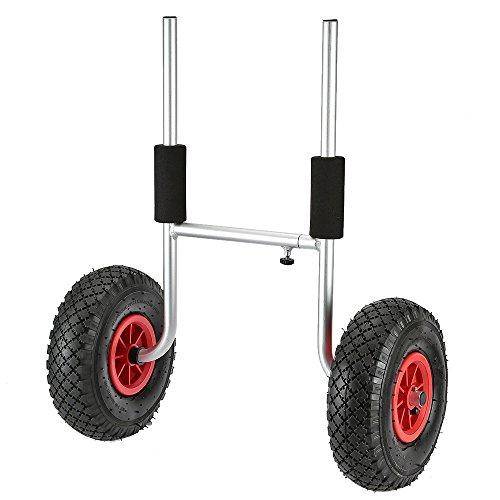 Docooler Doppel Reifen Anhänger für Kanus/Kayaking Zubehör