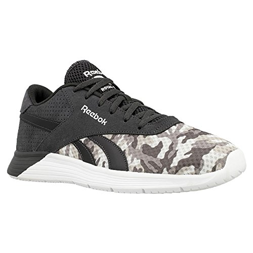 Reebok Royal EC Ride GFX, Chaussures de Running Entrainement Homme Noir / Gris / Blanc (Coal / Shark / Steel / Tin Grey / White)
