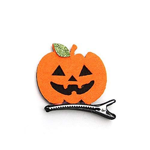 vige Halloween Kinder Haarnadeln Kürbis Fledermäuse Funny Baby Haarnadeln Halloween Ball Dress Up Stereo Haarspangen - Bunte