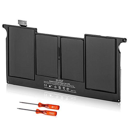 "SLODA Laptop Ersatz Akku Notebook Batterie für Apple Unibody MacBook Air 11\"" A1375 A1370 (2010 Version) Montage MC505 MC506 MC505LL / A MC506LL / A MC507LL / A - [Li-Polymer 7.3V 5000mAh]"
