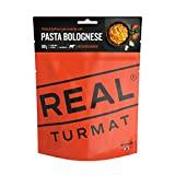 drytech - Real Turmat Fertiggerichte - Expeditionsnahrung - 10 Verschiedene Sorten, Real Turmat Gerichte:Pasta Bolognese
