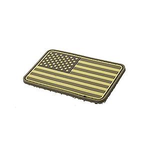 TMC US Drapeau Velcro PVC Moral Patch pour Airsoft Tactique Gear–Tan