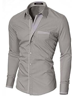 MODERNO Camicia Casual Uomo (VGDS41LS)