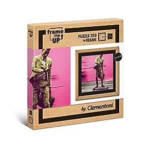 Clementoni- Puzzle con Marco 250 pzas Living Faster, (38501)