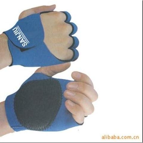 Deportes al aire libre bicicleta goma Palmas Grips guantes de proteccion