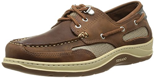 Sebago Clovehitch II - Scarpe da Barca Uomo, Marrone (Walnut Leather), 45 EU