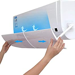 Klinkamz Deflettore per condizionatore d'aria, anti-soffio diretto, a scomparsa