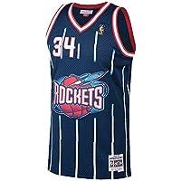 8fc5ed58370e Mitchell   Ness Hakeem olajuwon   34 Houston Rockets 1996 – 97 swingman NBA  ...