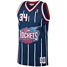 Camiseta NBA Houston Rockets Hakeem Olajuwon 34 (Azul), M