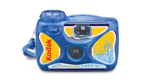 einwegunterwasserkamera Kodak Unterwasserkamera blau Kamera Video–Videokameras (blau)