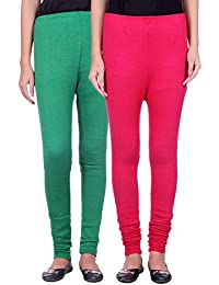 Belmarsh Warm Leggings - Pack of 2 (Green_Rani)