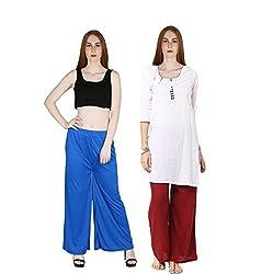 marami trouser blue maroon