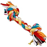 Pupkart Cotton Durable Dog Chew Rope Toy for Dogs (Colour May Vary)