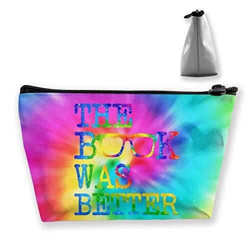 Das Buch war Besser Prefessional Travel Makeup Bag Cosmetic Organizer Portable