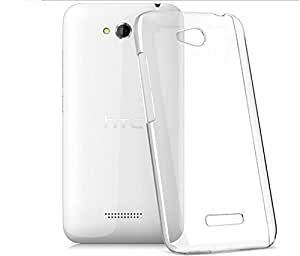 Desire 616 Case, (Never Turn Yellow) Clear transparent hard case Back Cover for HTC Desire 616