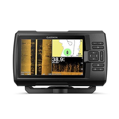 """FOOL Fischfinder, 7\""""GPS Sounder mit ClearVu und SideVu Scanner Sonar und Quickdraw Integrated Contour Mapping Software"""