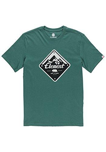 Element Route T-Shirt GrŸn
