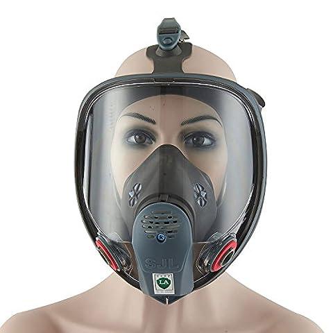 Babimax Bio Vapor Masque Protection respiratoire masques à gaz Peinture Pesticide chimique formaldéhyde anti Virus complète W/charbon actif respiratoire