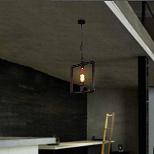 CRL Illuminazione interna Lampadari Loft Ristorante industriale Bar Illuminazione in ferro Scala americana Corridoio Acquedotto Lampadario Illuminazione domestica