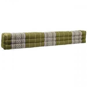 Coussin Thai - Pouf - Rectangulaire - Capoc/coton - Extra-long - Shark Beach - 115x16x10cm - Thai 704