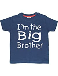 'Im the Big Brother' navy t-shirt