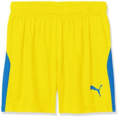 Puma Kinder Liga Shorts, Cyber Yellow/Elec.Blue, 152
