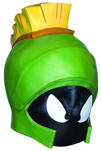 Marvin der Marsmensch Latex Vollmaske Erwachsene Bugs Bunny Looney Tunes (Kostüm Der Marsmensch Marvin)