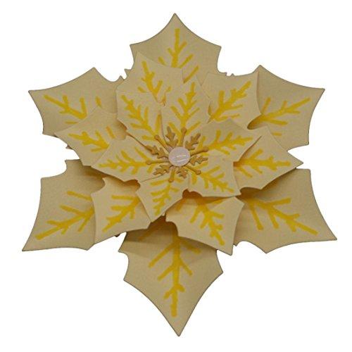 FNKDOR Stanzschablone Blumen Scrapbooking Schablonen Stanzformen, für Sizzix Big Shot und andere Stanzmaschine (E)