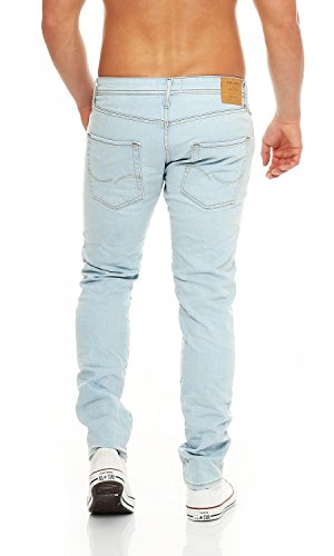 JACK & JONES Herren Slim Jeans Light Blue