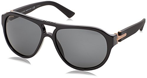 Bulgari Unisex-Erwachsene 7021 Sonnenbrille, Schwarz (Black), 59