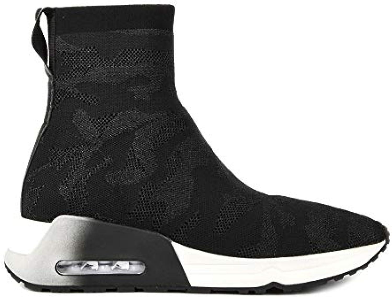 Ash Footwear Men's Lobo scarpe da ginnastica da Uomo Uomo Uomo in Maglia Nera | Materiali Di Prima Scelta  419805