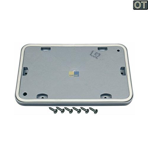 Original Mantenimiento Tapa Tapa Service Puerta Secadora BOSCH Siemens 646776