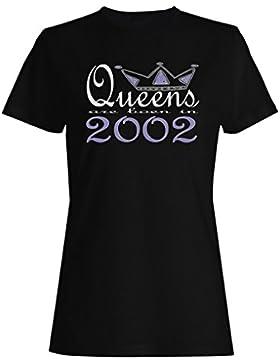 Nuevas reinas de diseño artístico nacen en 2002 camiseta de las mujeres b638f