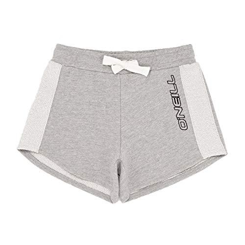 O'Neill Mädchen Chilling Beach Shorts, Silber (Silver Melee 8001), (Herstellergröße: 164) - Silber Mädchen Shorts