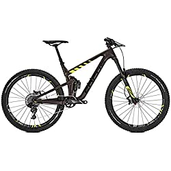 Focus Mountain Bike Jam C Factory SRAM GX1 11 g Carbon Diamante 27 'RH 44, brown/fluo yellow matt