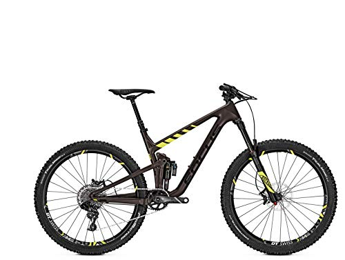 Mountainbike Focus Jam C Factory Sram GX1 11G Carbon Diamant 27' , Rahmenhöhen:41, Farben:brown/fluo yellow matt