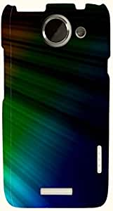 Dazzling multicolor printed protective REBEL mobile back cover for HTC One X+ ( X Plus ) D.No.N-T-1200-htcX
