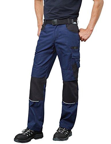 Pionier 9373–111,8cm Resist 2,5cm pantaloni da lavoro, colore: Blu navy/nero, taglia 44