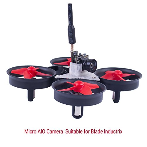 SunFounder SF-C01 FPV Kamera Micro Camera with 5.8G 48CH 25mW Transmitter and Y-Shape Splitter for Blade Inductrix Quadcopter Multiroter Aircraft Model - 4