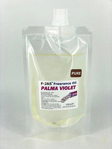 F-JAS Pochette Huile parfumée (100 ML), Palma Violet, Pure