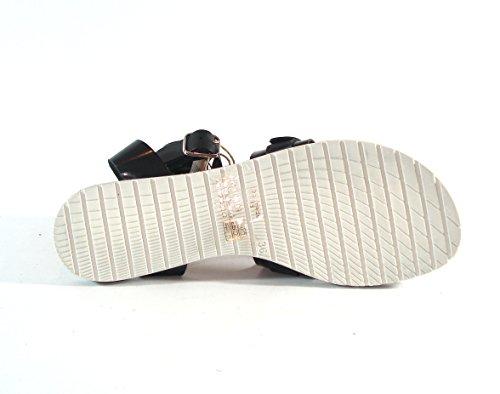 Mustang Shoes-assiette Plate, Couleur: Imprimé Léopard Noir